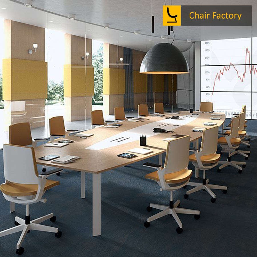 Albans 14 Seater Conference Table