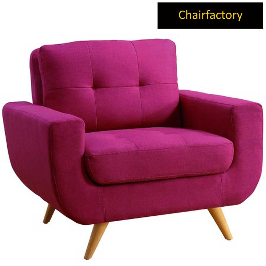 Americus Pink Accent Chair