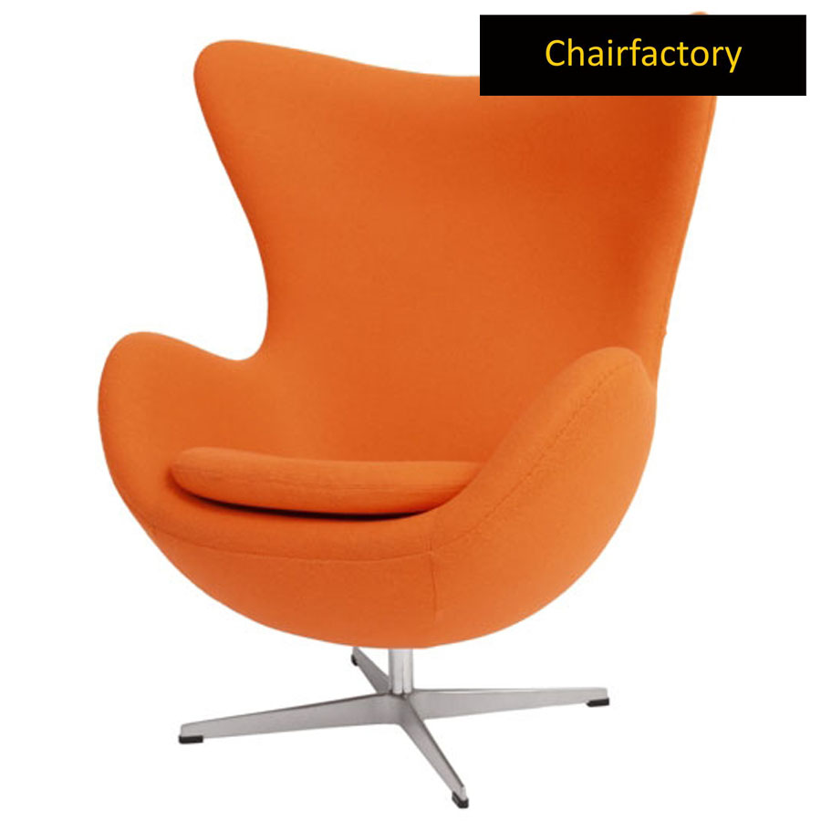 Arne Jacobsen Style Egg Chair Replica