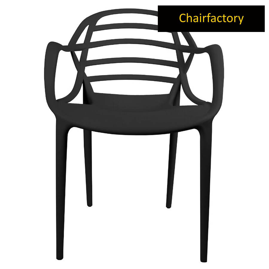 Aruba Black Cafe Chair