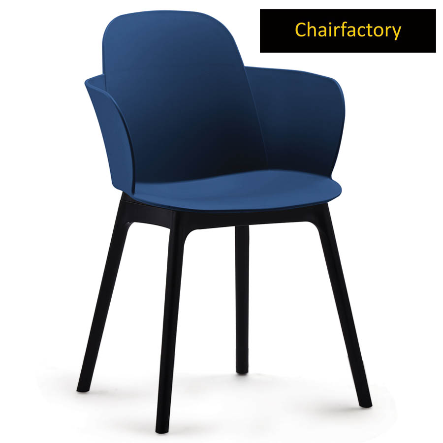 Clarinda Cafe Chair With Black Legs