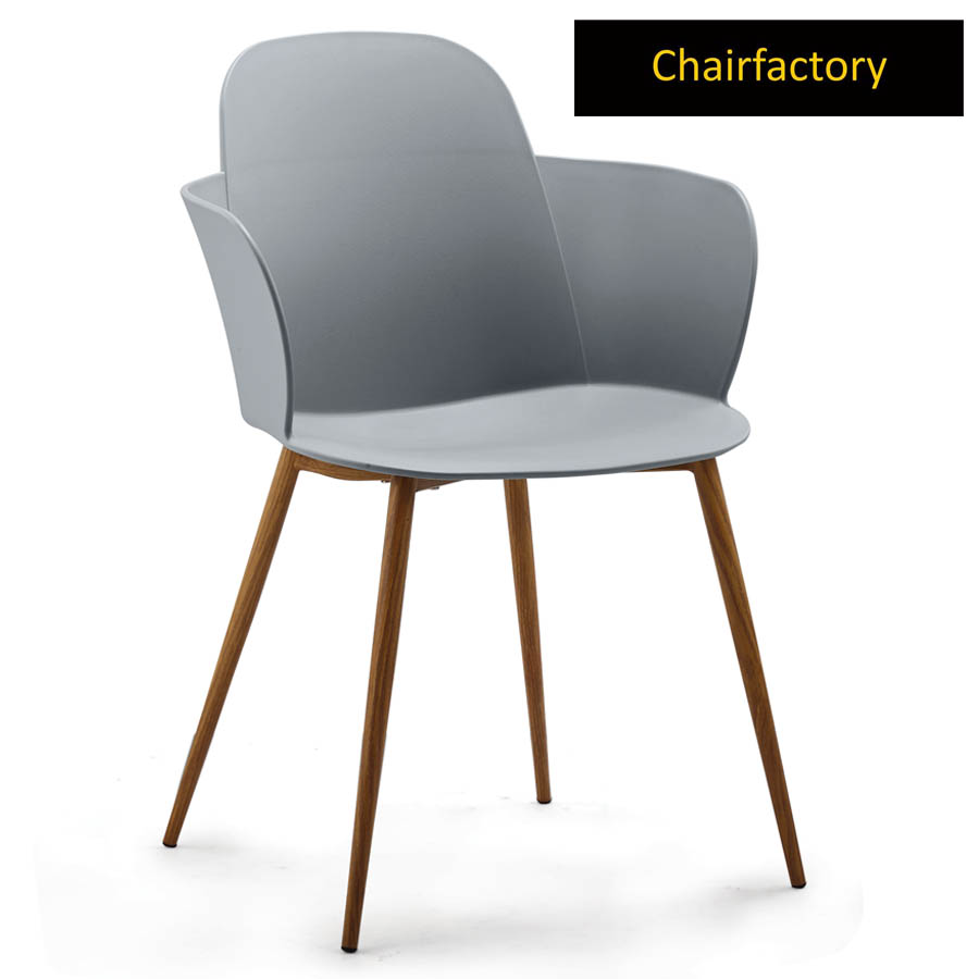 Clarinda Cafe Chair With Metal Legs