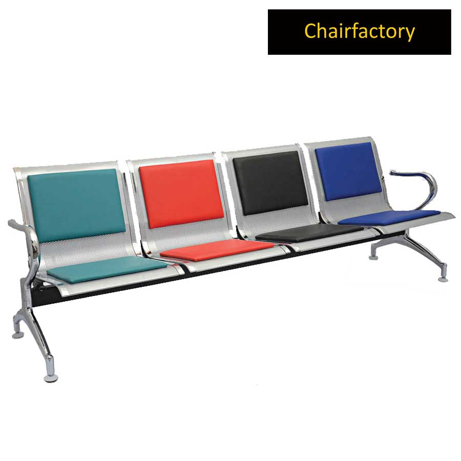 Durant 4 Seater Waiting Area Bench with Cushion