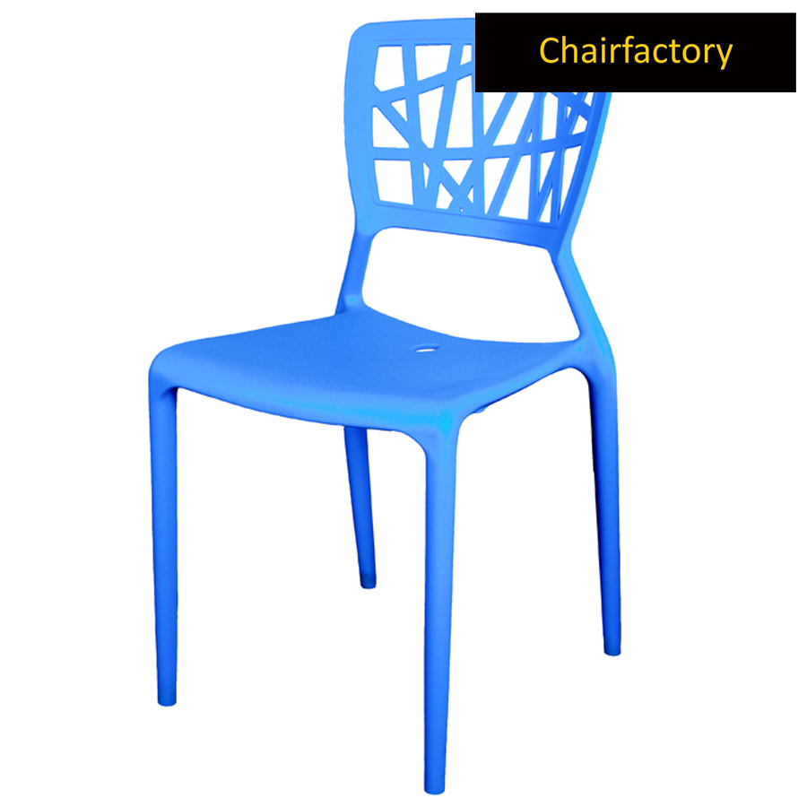 Blue Viento Replica Cafe Chair