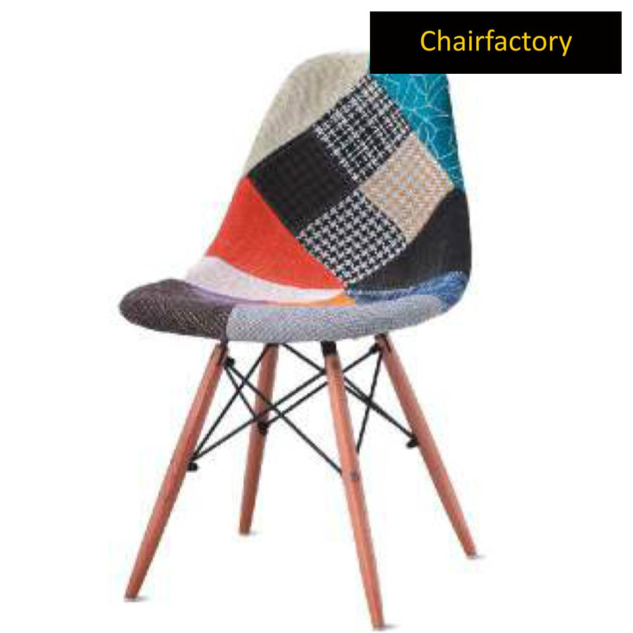 Eames DSW Patchwork Replica