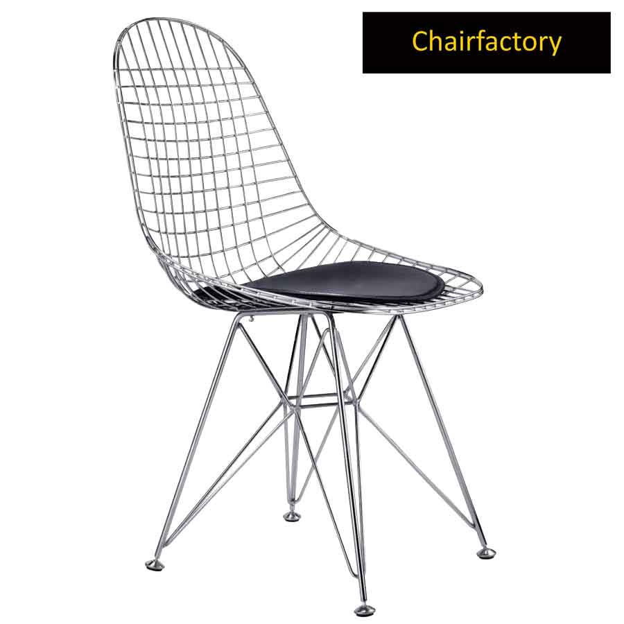 Eames Chrome Wire Chair Replica