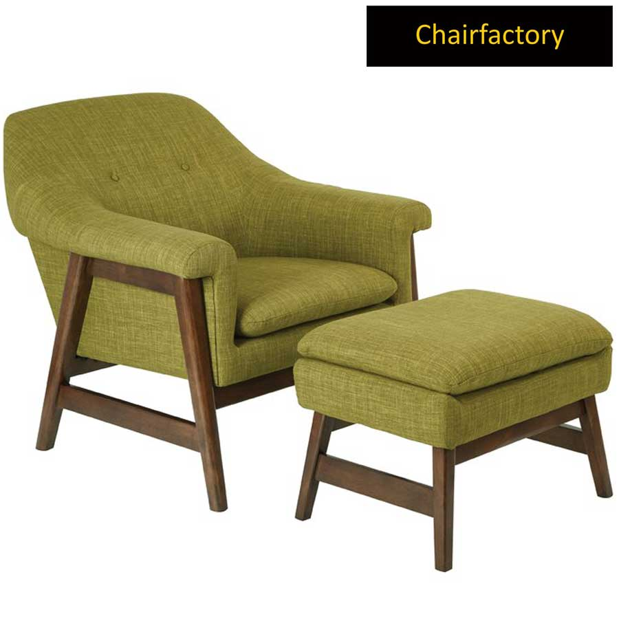 Evanston Accent Chair With Ottoman