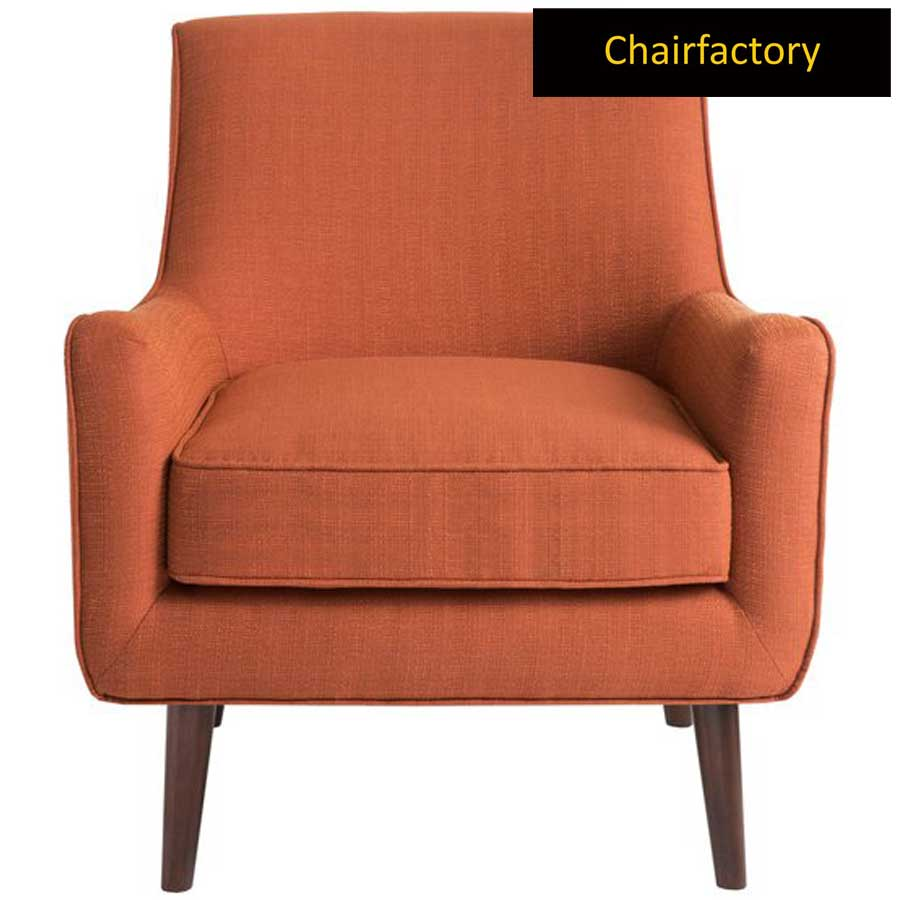 Flynton Orange Accent Chair
