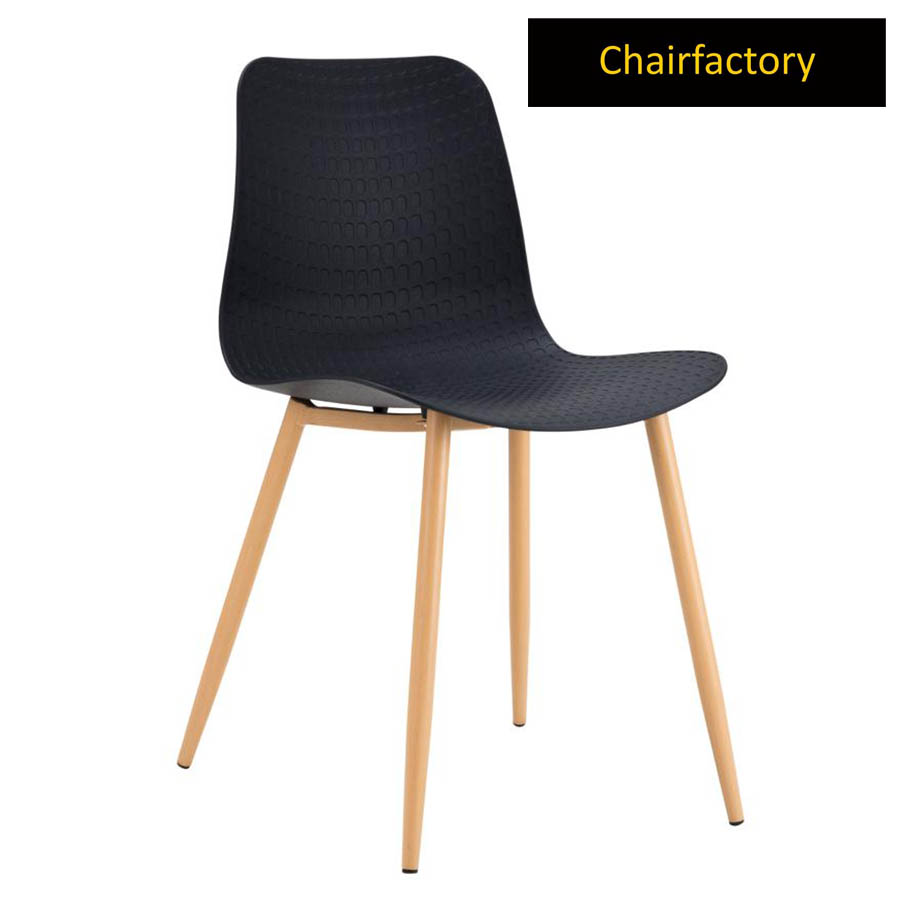 Idalia Black Cafe Chair