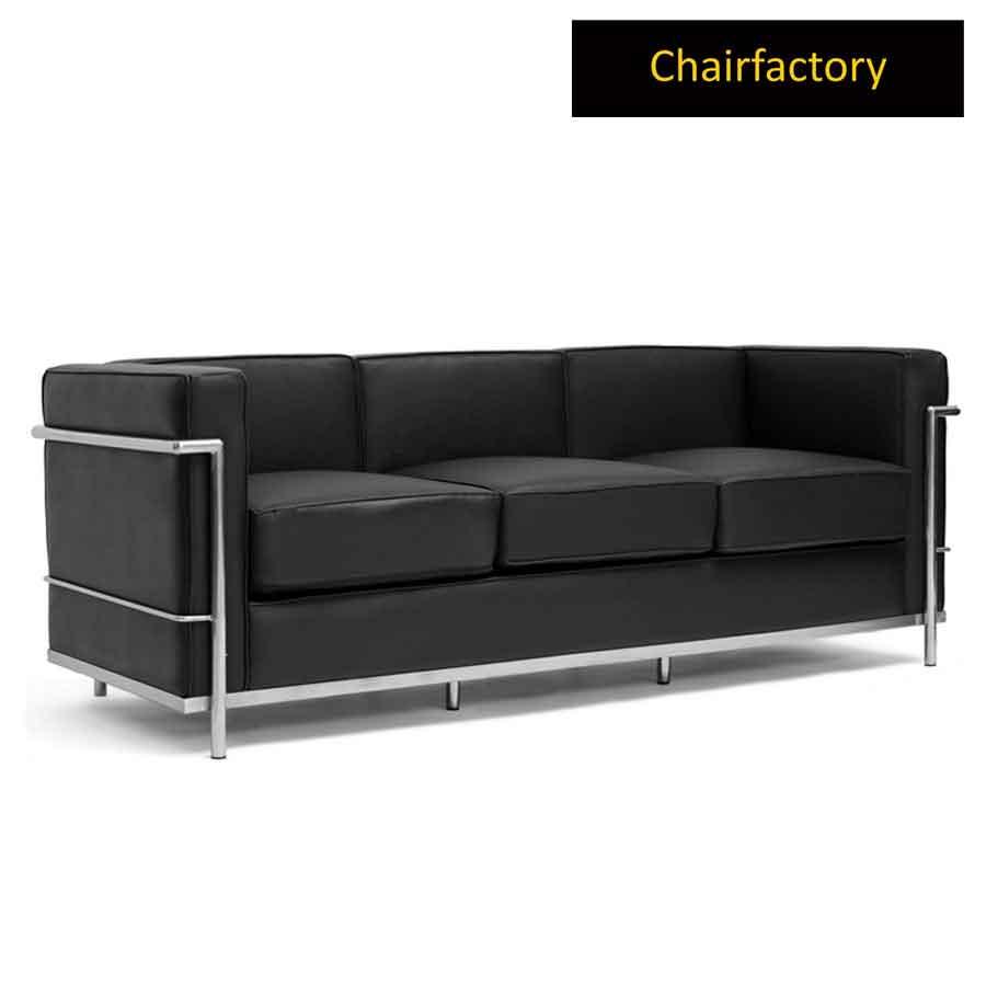 Le Corbusier Petit Confort Three Seater Sofa Replica