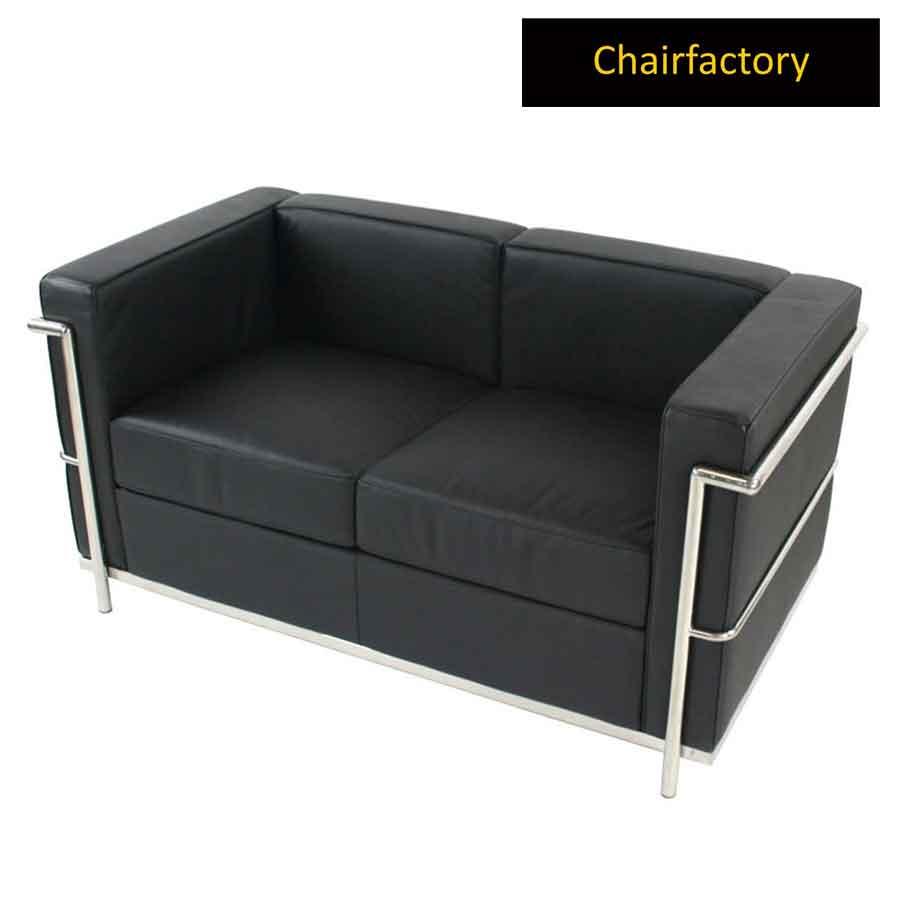 Le Corbusier Petit Confort Two Seater Sofa Replica