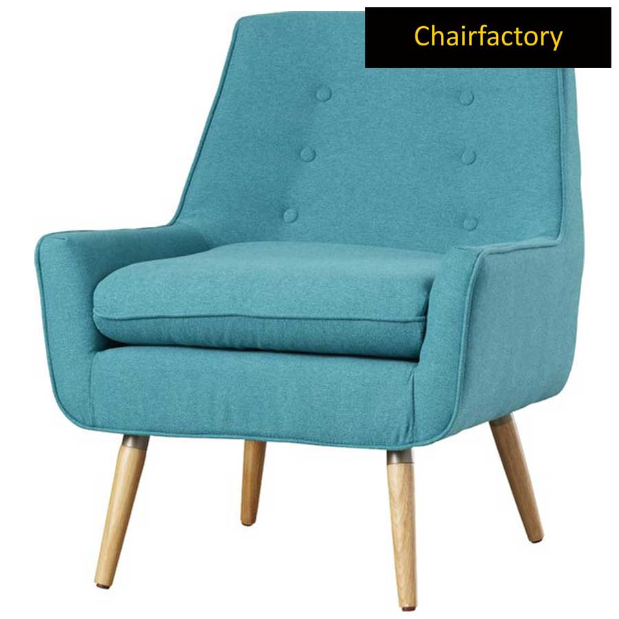Ponderosa Blue Accent Chair