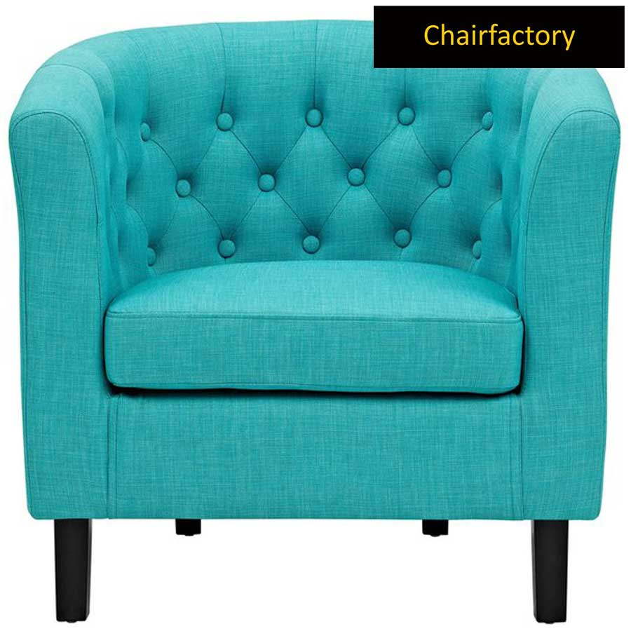 Rotterwood Turquoise Accent Chair