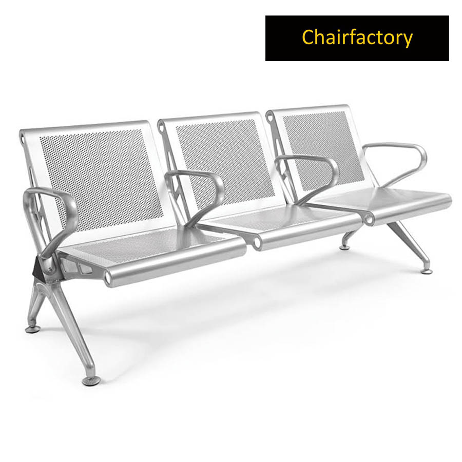 Jarvis 3 Seater Airport Bench