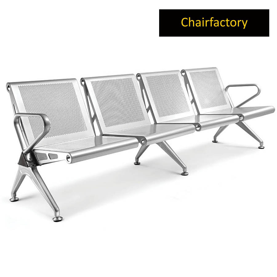 Jarvis 4 Seater Airport Bench
