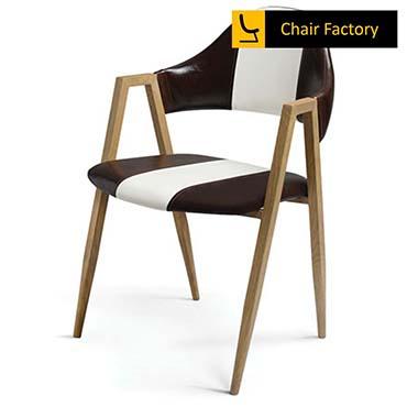 Tuxedo Black & White Designer Café Chair