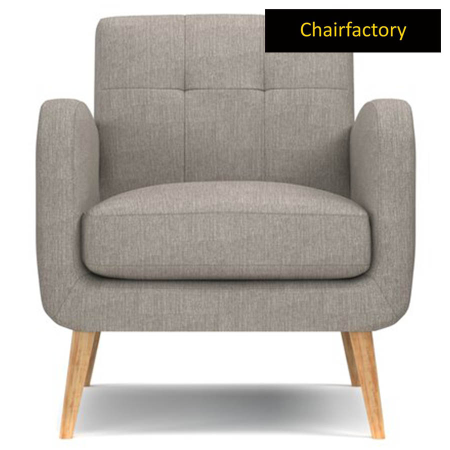 Valoma Grey Accent Chair