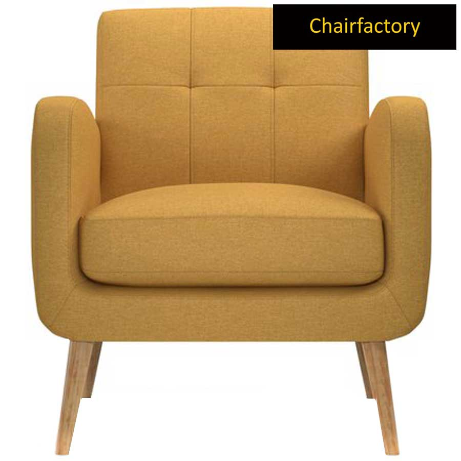 Valoma Yellow Accent Chair