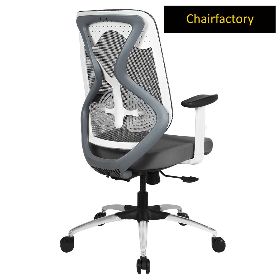 White Octopus LX Mid Back Ergonomic Office Chair