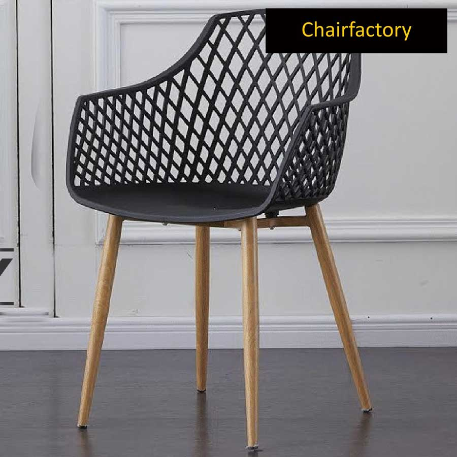 Arabelle Black Cafe Chair