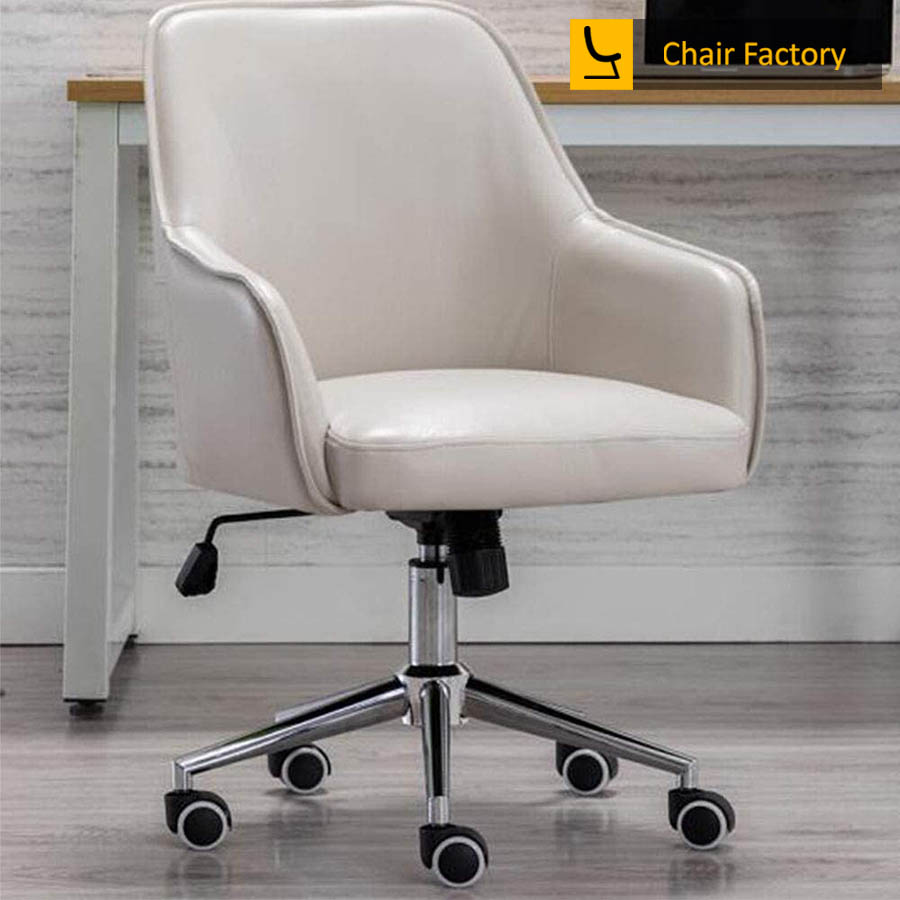 Arlo Cream Designer Chair