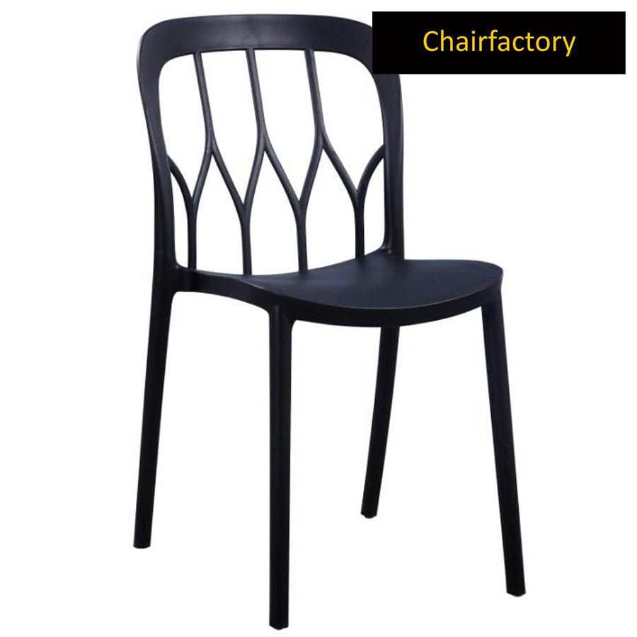 Bloom Black Cafe Chair