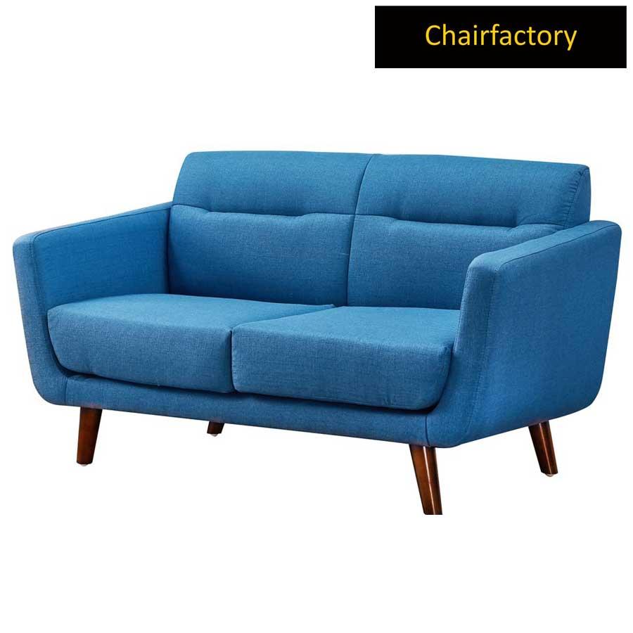 Boras 2 Seater Blue Sofa