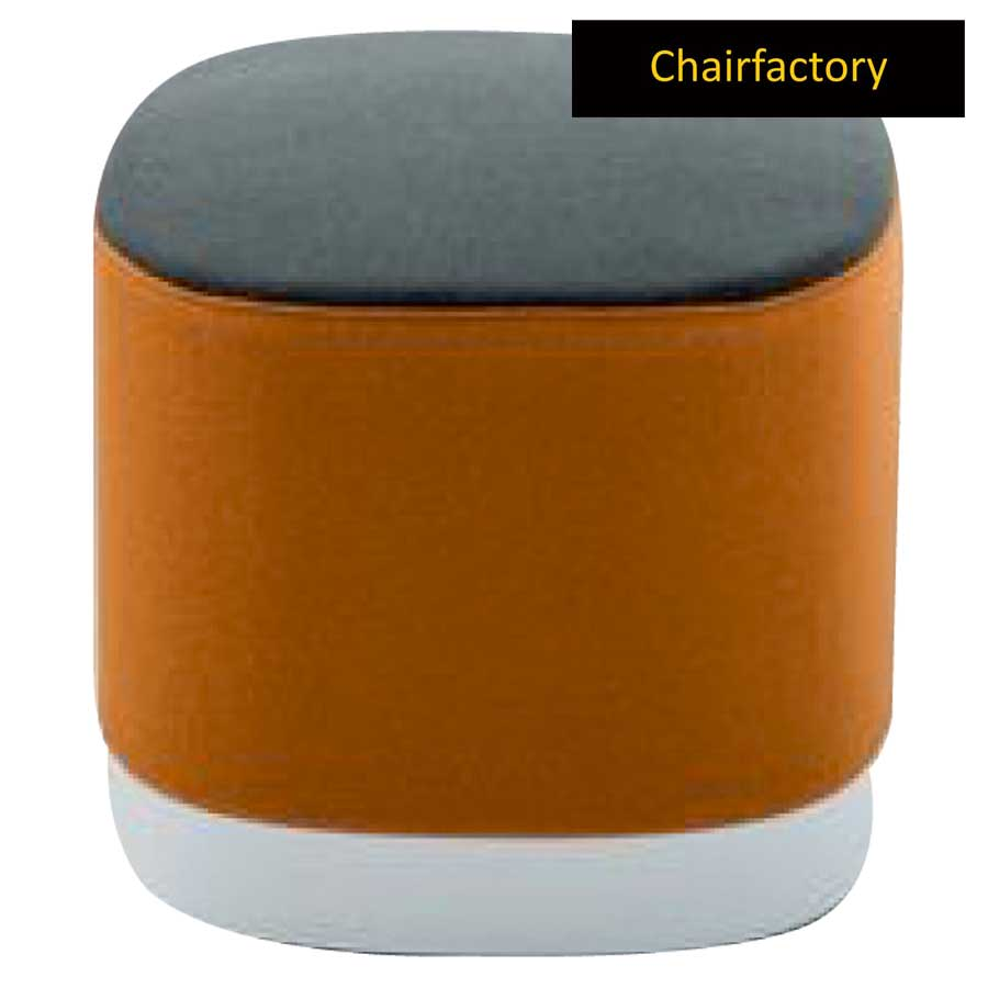 Devin Brown Pouffe Stool