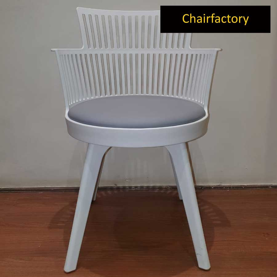 Evonne White Cafe Chair