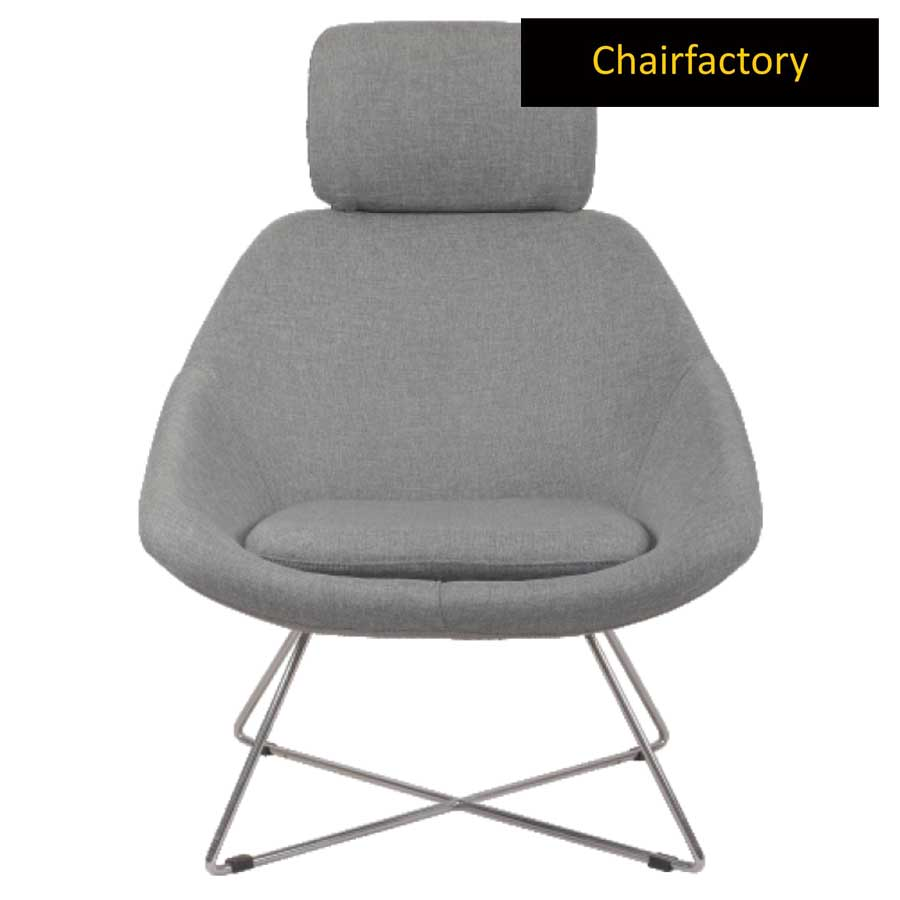 Lotus Plus Lounge Chair With Headrest