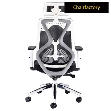 White Octopus High Back Ergonomic Office Chair