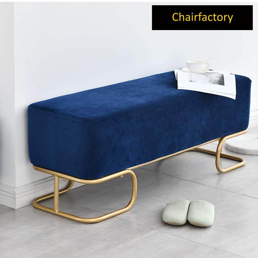 Padrona Upholstered Metal Bench