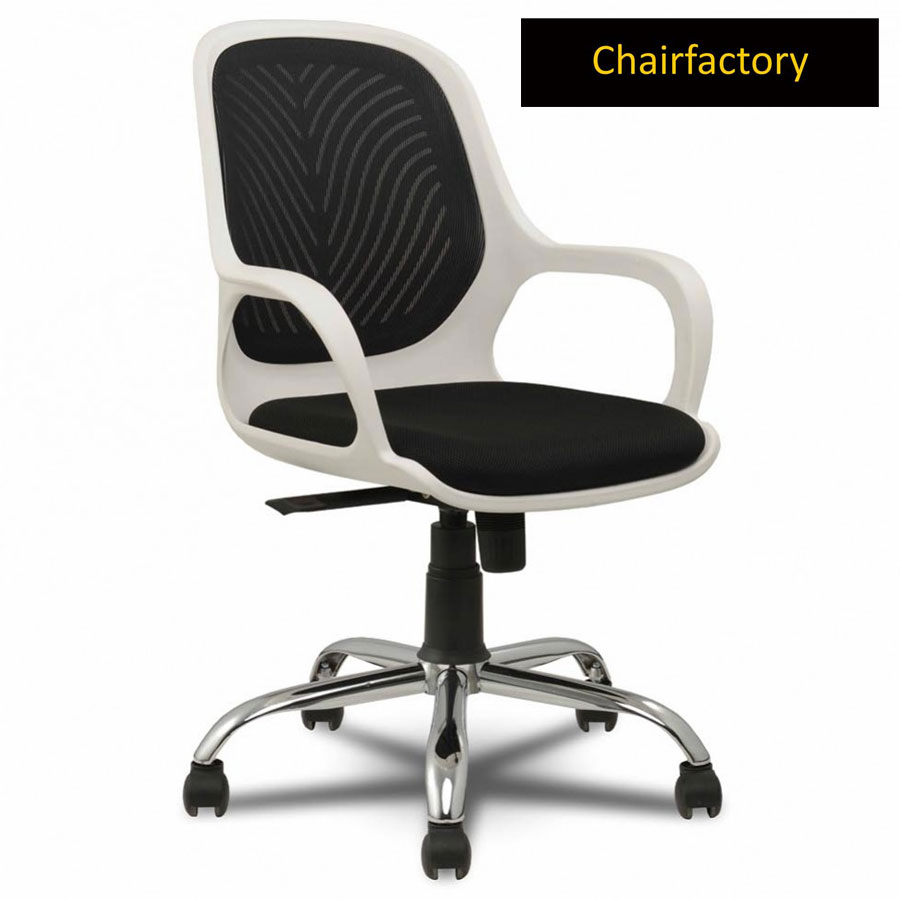 Sapphire White Office Chair